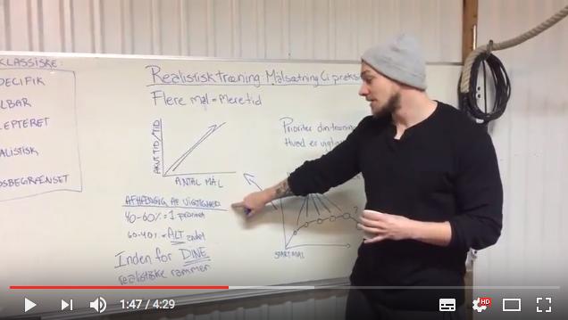 Realistisk Træning – Målsætning (i praksis)